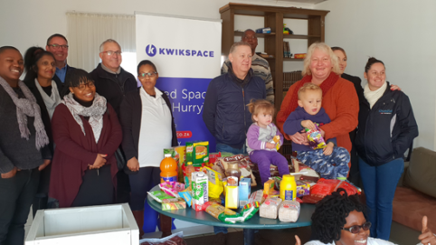 Kwikspace was honoured to support this children's home and spend some time with the staff who devote so much of their lives helping and nurturing the Siyabonga family.