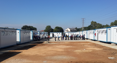 prefabricated classrooms supplied by Kwiksapce