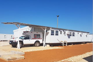 Mobile clinics rapidly cater for the need to provide space for healthcare in rural communities and cities.