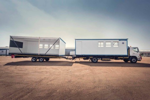 Prefabricated modular buildings are ideal for construction projects and mining camps.