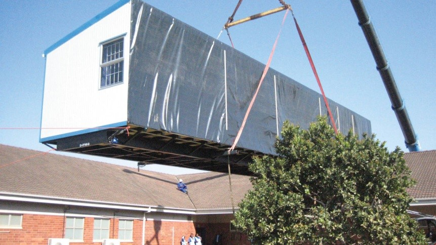Our panel technology is Agrément-certified. Prefab school buildings delivered quickly and easily. Transportable buildings for quick classroom set-up.
