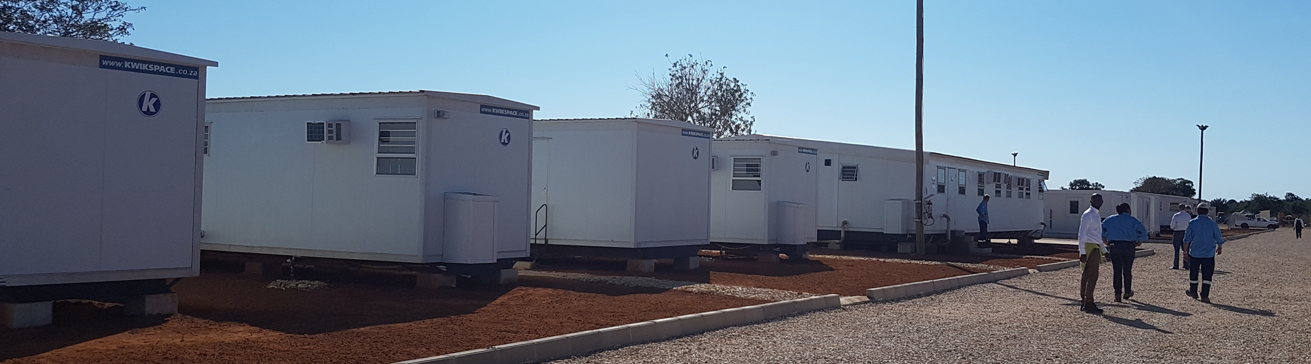 Image of mobile homes. Our prefab houses are produced in an environmentally friendly factory in Gauteng, South Africa.
