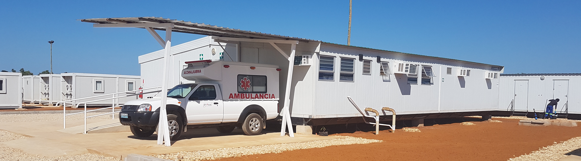 Mobile clinics deliver rapid solutions for healthcare space. Kwikspace prefab buildings are ideal for modular clinics.