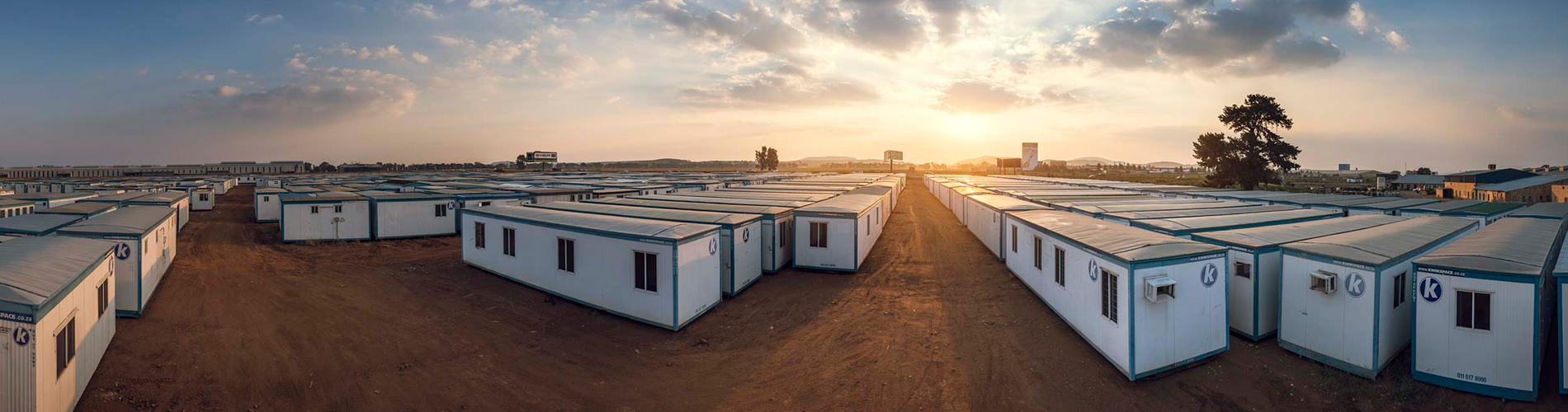 Kwikspace is Africa's largest manufacturer of prefab buildings. Our products are delivered quickly and ready for immediate use.