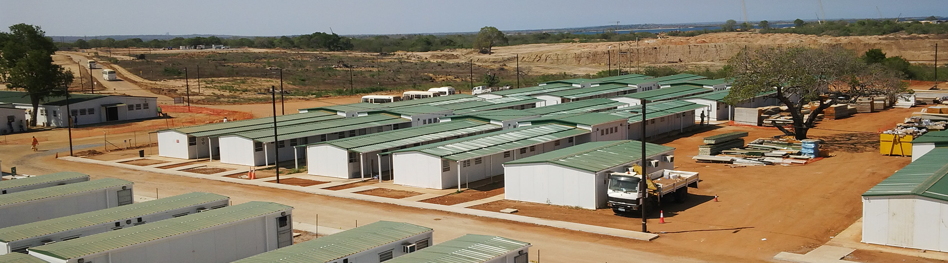 rented modular buildings for remote sites. Remote portable toilets. Remote camp container storage. Long-term rental containers for hire. Remote healthcare facilities to rent.