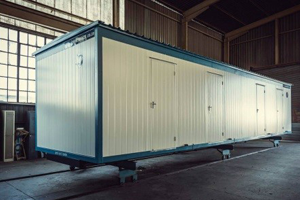 Our high quality prefabricated buildings are mobile.
