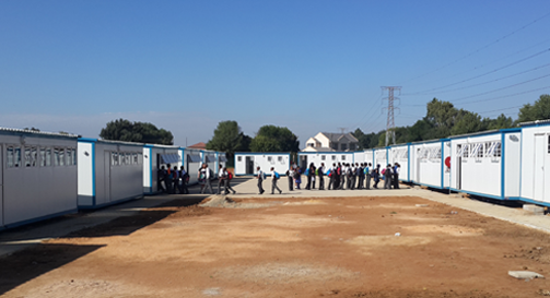 Mobile trailer classrooms are demountable buildings used for education.