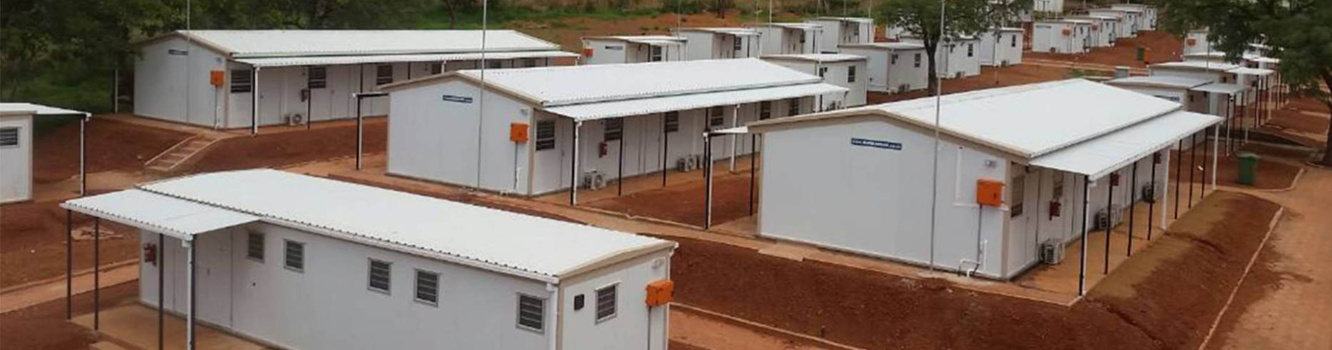 A modular parkhome or modular office is ideal for any mining or construction camp.