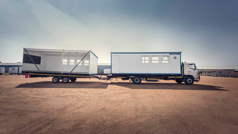 double-wide portable office buildings make the ideal prefab office.