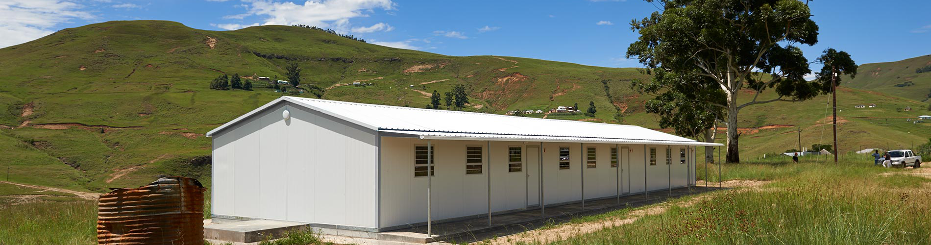 modular construction is used for prefab buildings