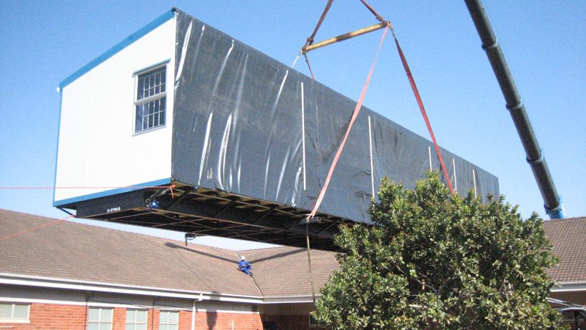 Prebuilt homes can be delivered on the back of a truck because of our modular building systems.