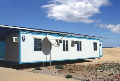 Mobile homes for sale in South Africa can be ordered from Kwikspace.