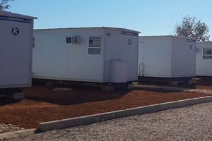 mobile park homes and mobile offices for sale in south Africa are ideal for construction sites. Park home manufacturers Kwikspace, provide portable office space with portable office trailers.